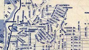 Local map c. 1950